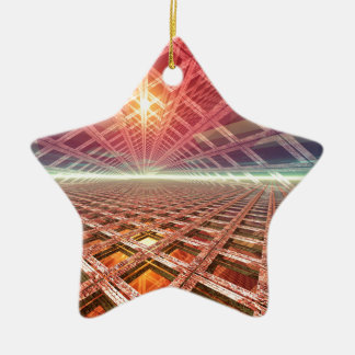 Space Portal To The Stars Christmas Tree Ornament