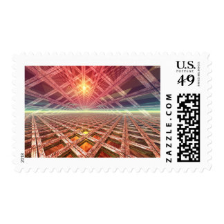 Space Portal To The Stars Postage
