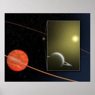 Space Poster - Luhman TStar Companion