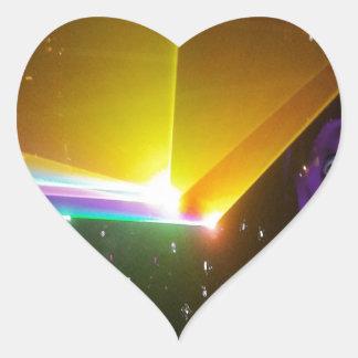 space probe_ heart sticker