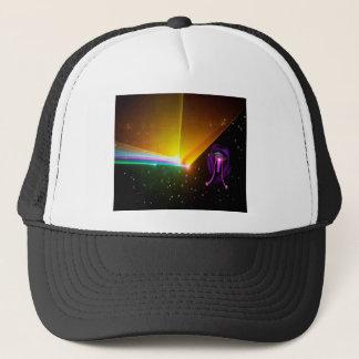 space probe_ trucker hat