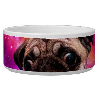 space pug - pug food - pug cookie bowl