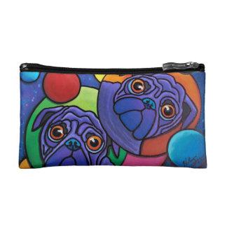 Space Pugs Cosmetic Bag