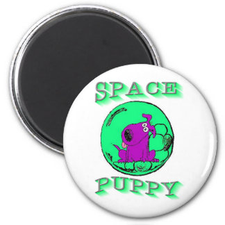 Space Puppy Refrigerator Magnets