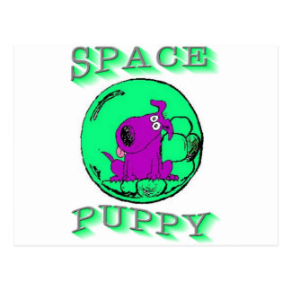 Space Puppy Postcard