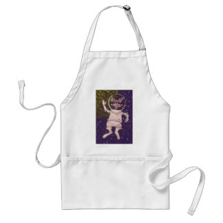 Space Raccoon Adult Apron