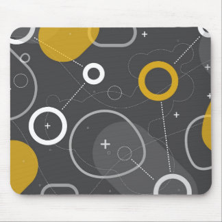 Space Race Abstract Mousepad