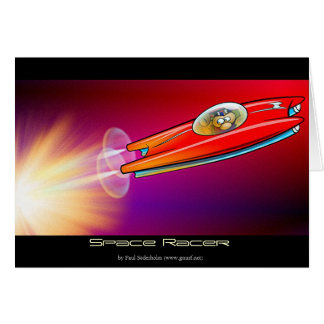 Space Racer Card
