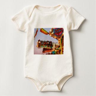 Space Racer Closeup Baby Bodysuit