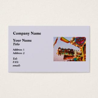 Space Racer Closeup Business Card