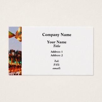 Space Racer Closeup - Platinum Business Card