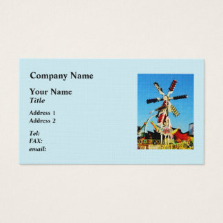 Space Racer in Distance Business Card