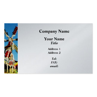 Space Racer in Distance - Platinum Business Card