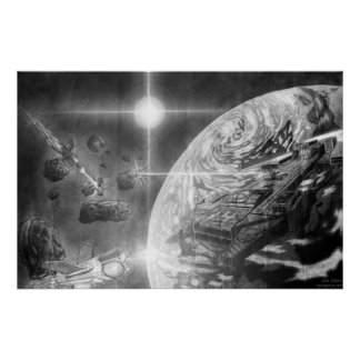 Space Raiders Print