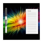 Space Rainbow background Dry Erase Boards
