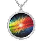 Space Rainbow background Pendants