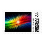 Space Rainbow background Stamps