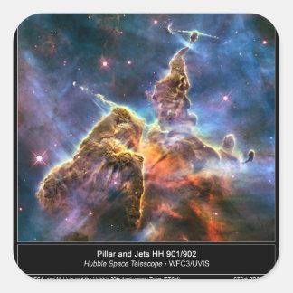 Space Rangers Square Sticker