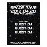 Space Rave Custom Flyer