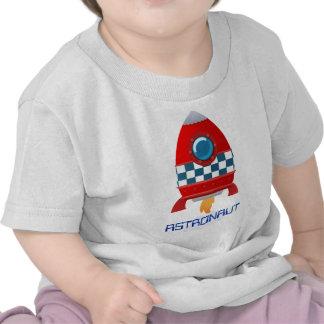 Space rocket baby t-shirt