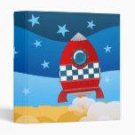 Space Rocket - binder folder
