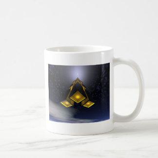 Space Rocket In Flight Coffee Mug