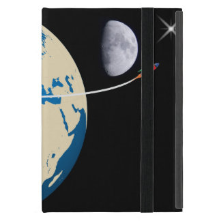 Space rocket covers for iPad mini