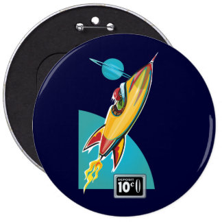 Space Rocket Ride Button