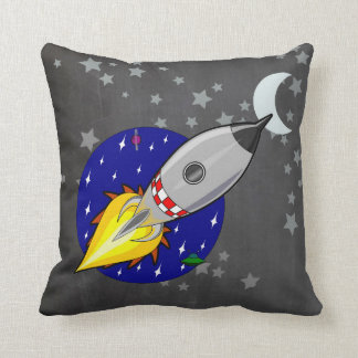 Space Rocket Scatter Cushion Pillow for Boys