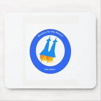 Space Rockets Mouse Pad