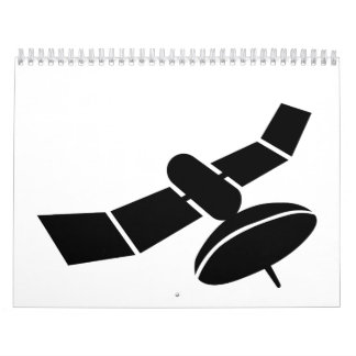Space satellite calendar