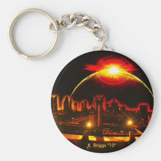 "space scape, K. Briggs ""10"" Key Chains"