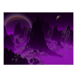 Space Scape Posters