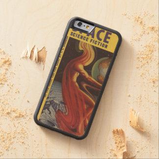 SPACE science fiction comic book comics bright fun Carved® Maple iPhone 6 Bumper Case