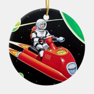 SPACE SCOOTER CERAMIC ORNAMENT