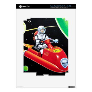 SPACE SCOOTER iPad 3 SKINS