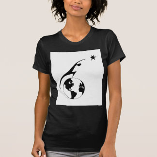 Space Settlement Icon T-Shirt