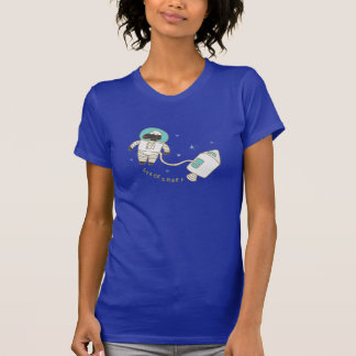 Space Sheep Funny Word Pun T-Shirt