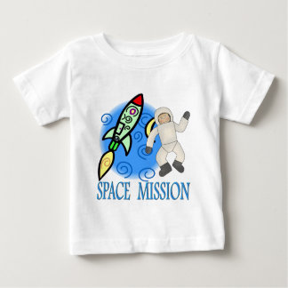 Space  Ship  Astronaut Mission Baby T-Shirt
