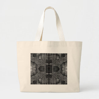 SPACE SHIP HULL cl Large Tote Bag