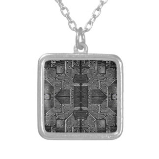 SPACE SHIP HULL cl Silver Plated Necklace