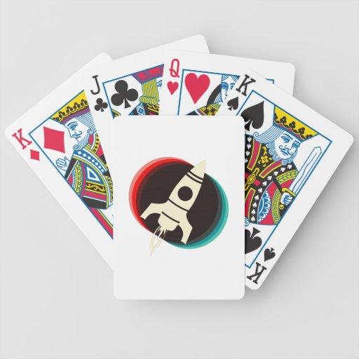Space Ship Poker Deck