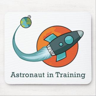 space ship rocket astronaut mouse pad