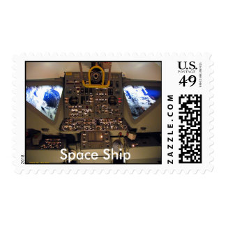Space Ship, Space Ship Postage Stamps