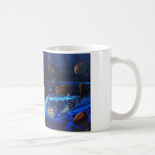 Space ship Titanic Mug