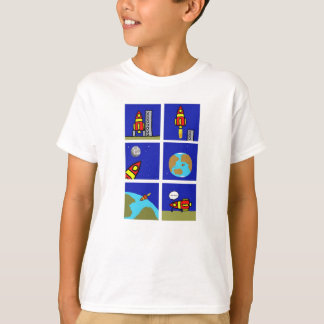 """Space ship trip"" T-shirt"