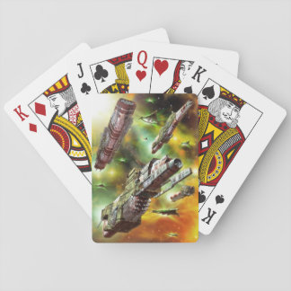 Space Ships Fantasy Playing Cards