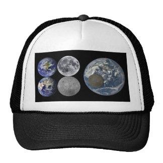 Space Shots - The Earth & Moon Trucker Hat