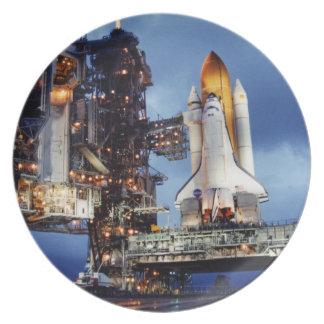 Space Shutte Plate