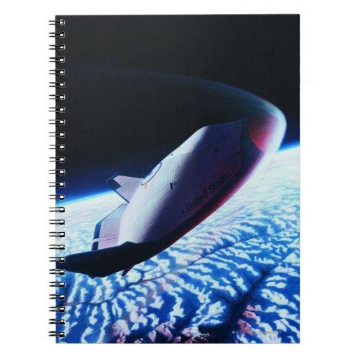 Space Shuttle 3 Notebook